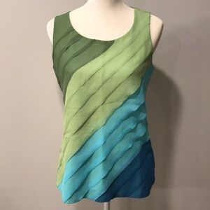 Coldwater Creek Tiered Tank Top